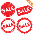 Stamp stitcker sale tag collection - - EPS1 vector image