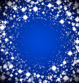 Round sparkle frame vector image