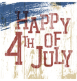 4th july poster vector image