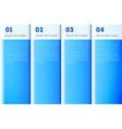 Blue presentation template vector image
