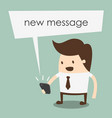 new message vector image