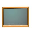 empty school blackboard vector image