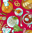 russian food vector image