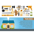 Tools store vector image vector image