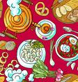 russian food vector image