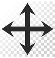 Expand Arrows Icon vector image
