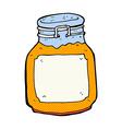 comic cartoon marmalade preserve vector image