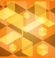 abstract hexagon geometric background vector image
