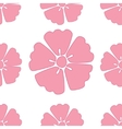 Cherry blossom sakura seamless pattern background vector image