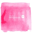 Water-color pink background vector image