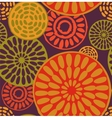 Tribal African simple seamless pattern vector image
