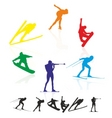 winter games vector image