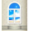 Window background art vector image