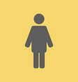 Man Sign Icon vector image