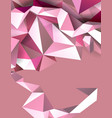 pastel color geometric abstract banner modern vector image
