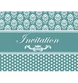 Invitation card or postcard vector image