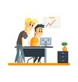Office Team Success vector image