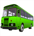 passenger bus vector image