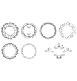 Round Frame Collection vector image vector image