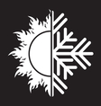 summer winter air conditioning icon31 resize vector image