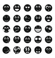 smile icon set simple style vector image