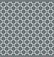 grey seamless abstract mechanic cell vintage vector image