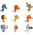 Collections of baby animals vector image vector image