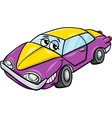 car character cartoon vector image