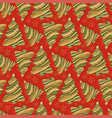 new year and christmas seamless pattern cartoon vector image