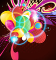 colorful artwork vector image