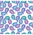 seamless pattern with ornamental cucumbers vector image vector image