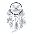 Drawing of Dreamcatcher vector image