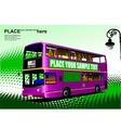 al 1003 city bus 02 vector image vector image