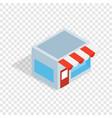 shop isometric icon vector image