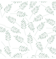 leaves seamless pattern 01 vector image vector image