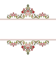 Antique Ottoman borders and frames series fifty vector image