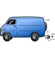 Cool Van vector image
