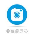 hipster photo camera sign icon retro camera vector image