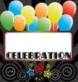 Celebration Background vector image vector image
