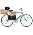 Postal Bicycle vector image