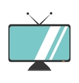 tv plasma isolated icon vector image