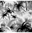 Palm treesseamless background vector image