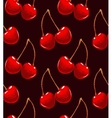 colorful dark cherry background vector image