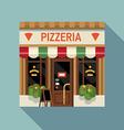 Italian Pizzeria Shopfront vector image