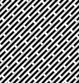 Abstract black and white grid for design vector image