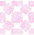 pattern of stripes and circles vector image