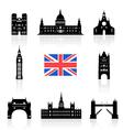 London England Icon vector image
