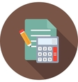 Calculations vector image