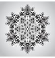 Floral Rounded Mandala Pattern vector image vector image
