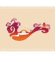 Abstract Decorative Japan Background vector image